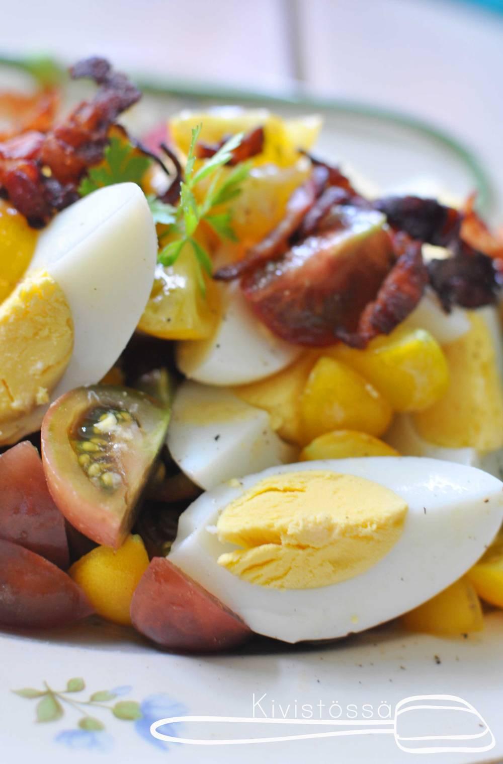 Breakfast-Eggsalad. Kivistössä blog