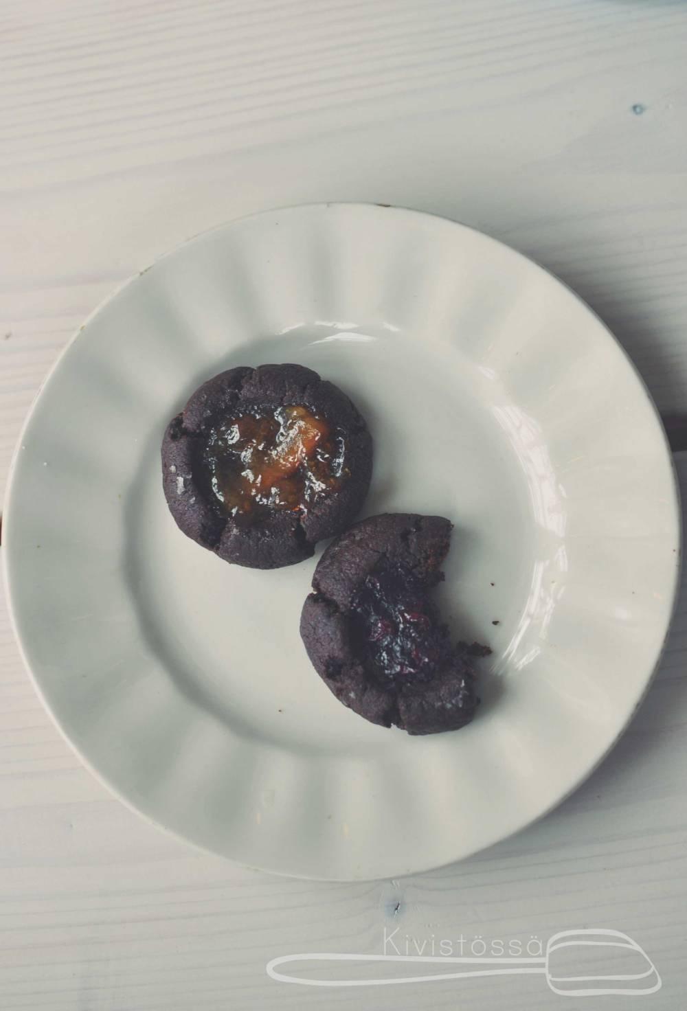 Thumbprint cookies - Kivistössä Foodblog www.kivistossa.com