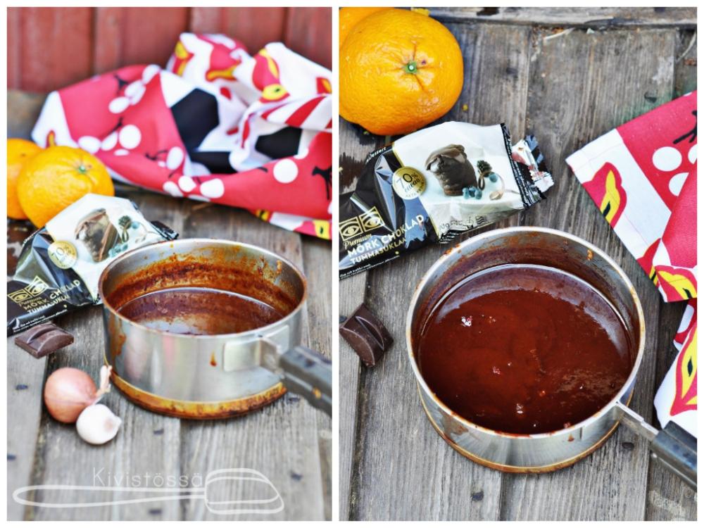Chocolate and chipotle bbq sauce - Kivistössä Foodblog www.kivistossa.com