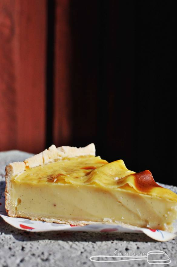 Flan pâtissier - Kivistössä Food Blog www.kivistossa.com