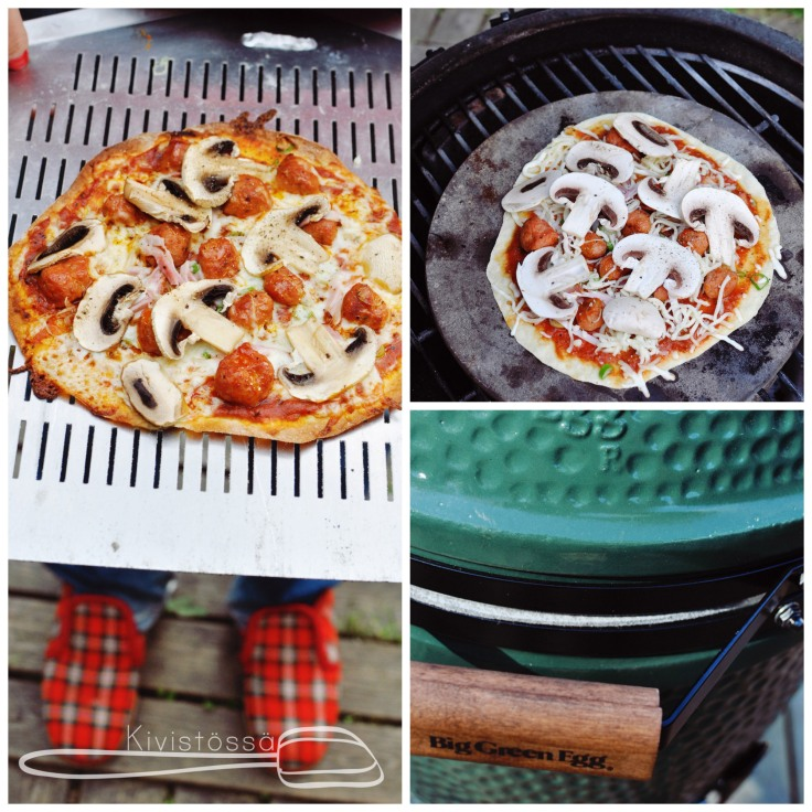 How to grill pizza www.kivistossa.com