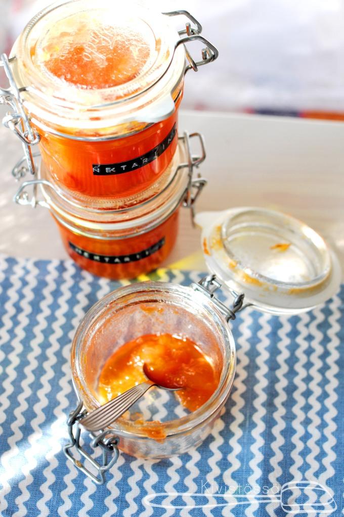 Nectarine jam - Kivistössä Foodblog - www.kivistossa.com