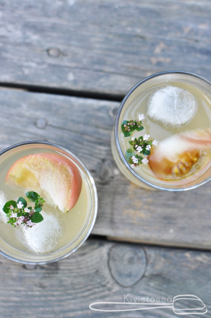 www.kivistossa.com Bloody Mary with tomato water