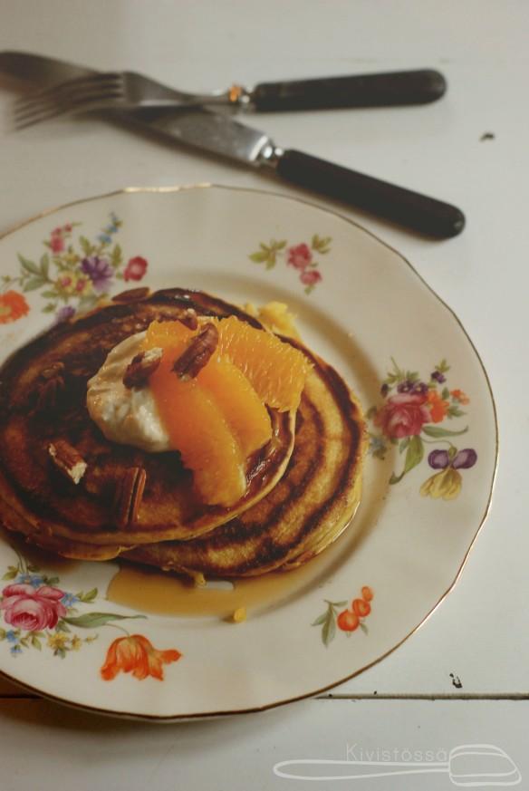 pumpkin pancakes www.kivistossa.com