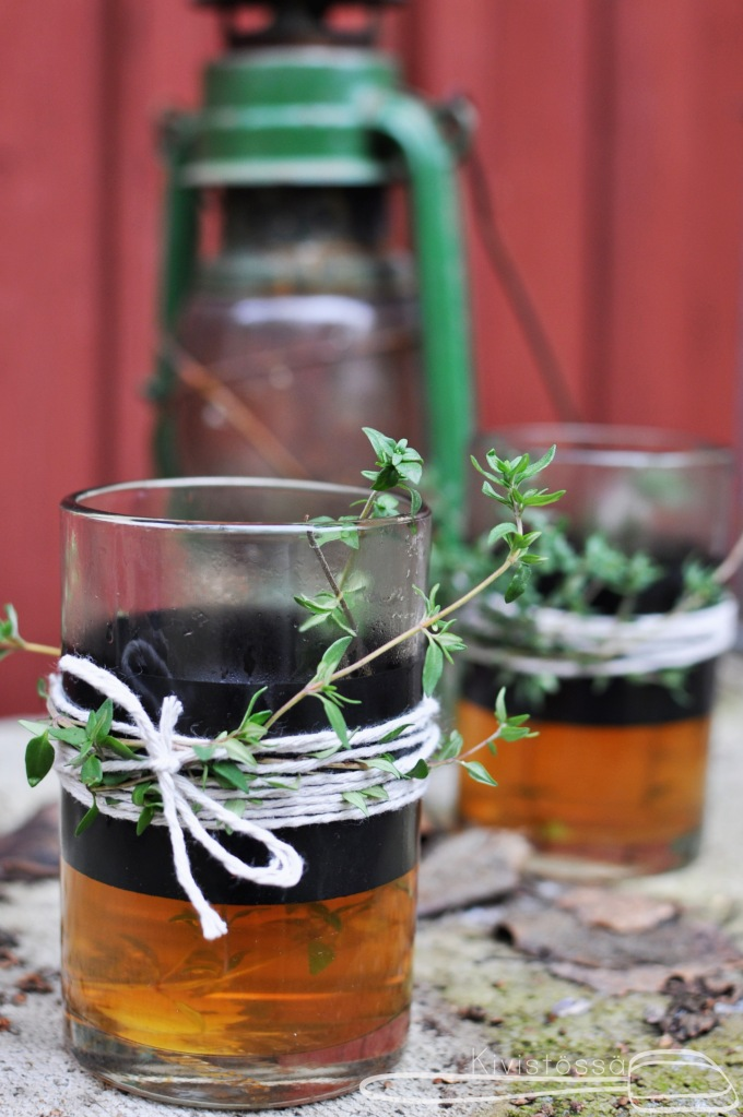 Hot Cider with spiced rum - Kivistössä Foodblog www.kivistossa.com