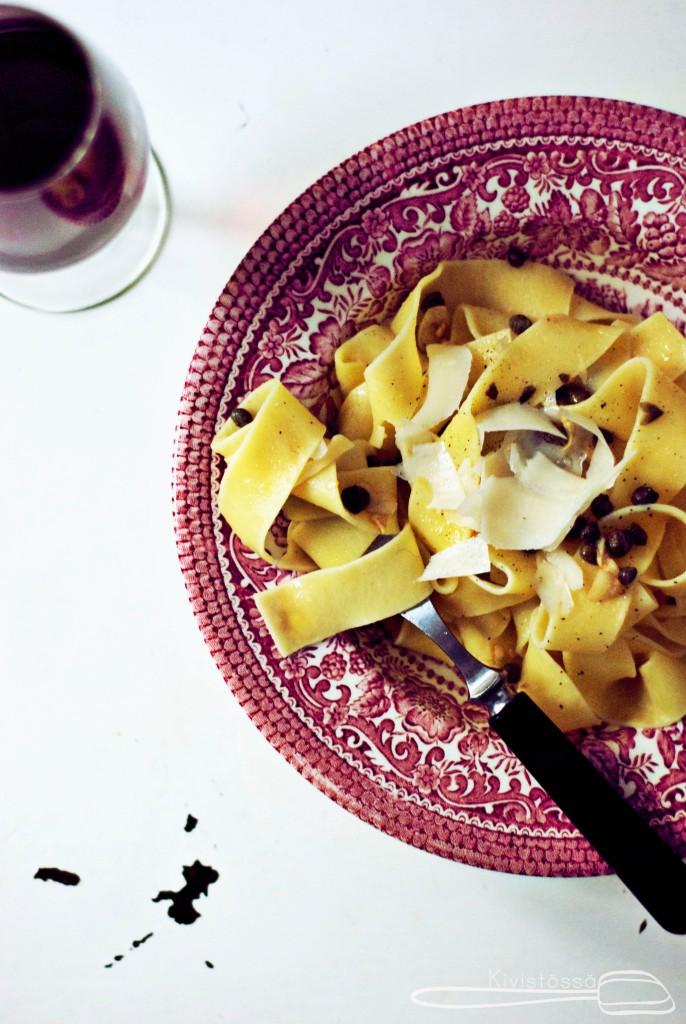 Kapris-sitruunapasta www.kivistossa.com