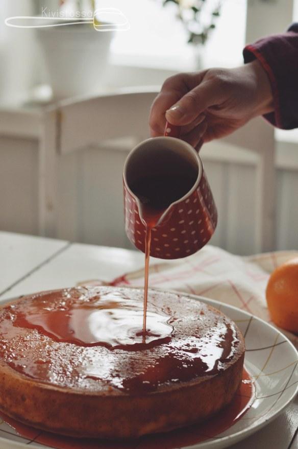 Campari-appelsiinikakku